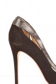 Suede pumps Alessia | black