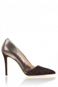 March23 | Suede pumps Lolita | zwart   | Afbeelding 3
