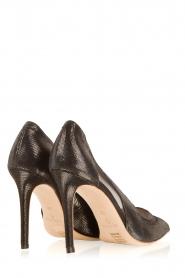 March23 | Leren pumps Angelica | zwart   | Afbeelding 4