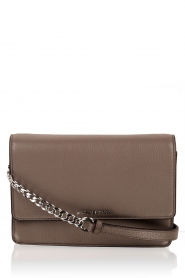 Leather shoulder bag Daniela | brown