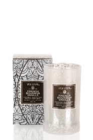 Scented candle Petite Maison French bourbon vanille | white