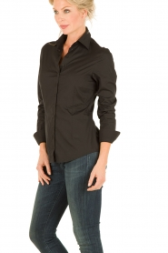 Blouse Basic | zwart