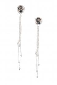 Silver earrings Strings of Joy | silver