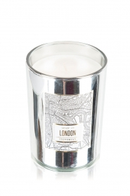 Victorian Candles | Geurkaars London | zilver  | Afbeelding 1