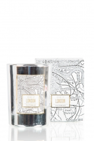 Scented candle London | silver