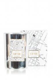 Victorian Candles | Geurkaars New York | zilver  | Afbeelding 2