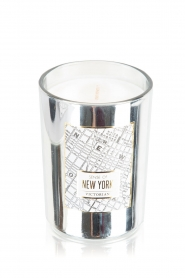 Geurkaars New York | zilver