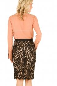 Silk blouse Remi | salmon pink