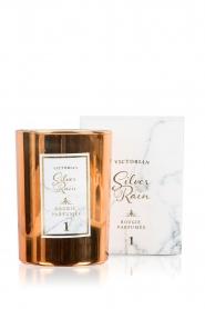 Victorian Candles | Geurkaars Silver Rain | kopergoud  | Afbeelding 2
