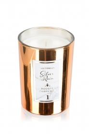 Victorian Candles | Geurkaars Silver Rain | kopergoud  | Afbeelding 1