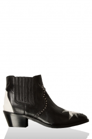 Leather ankle boot Chandler | black