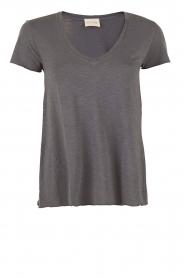 American Vintage | T-shirt Jacksonville | grijs  | Afbeelding 1
