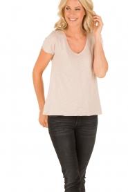 T-shirt Jacksonville | roze
