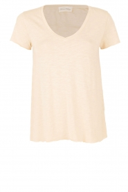 American Vintage | T-shirt Jacksonville | creme  | Afbeelding 1