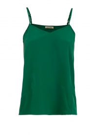 American Vintage |  Silk Top Riswell | green  | Picture 1