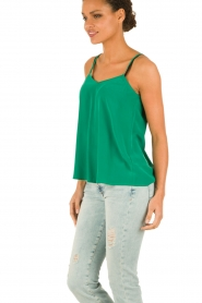 American Vintage |  Silk Top Riswell | green  | Picture 4