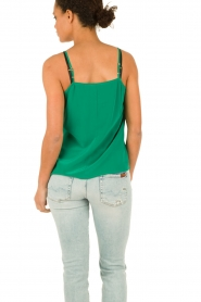 American Vintage |  Silk Top Riswell | green  | Picture 5