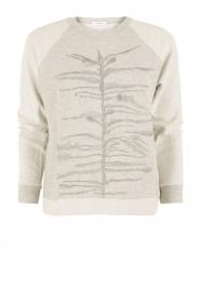 Munthe | Sweatshirt Gilian | grijs   | Afbeelding 1