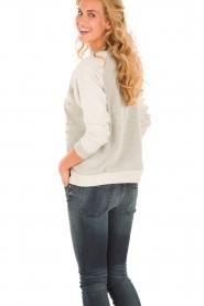 Munthe | Sweatshirt Gilian | grijs   | Afbeelding 5