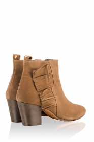 Suede ankle boots Lilly High | camel
