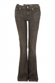 7 For All Mankind | Flared jeans Charlize | zwart   | Afbeelding 1