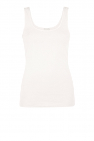 Tanktop soft touch | white