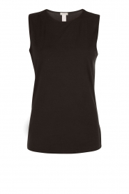 Tanktop soft touch | black