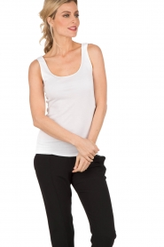 Tanktop Seamless Cotton| white