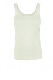 Hanro | Tanktop Seamless Cotton | mint  | Afbeelding 1
