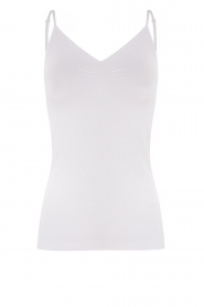 CC Heart |  Seamless top Sem | white  | Picture 1