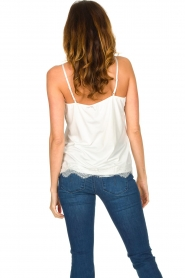 CC Heart |  Top with lace Puck | white  | Picture 6
