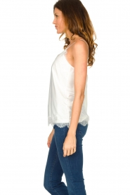 CC Heart |  Top with lace Puck | white  | Picture 5