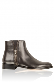 Leather ankle boots Moonlight | black
