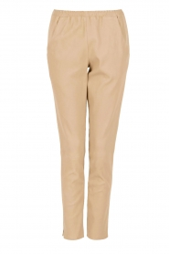 Leather pants | nude