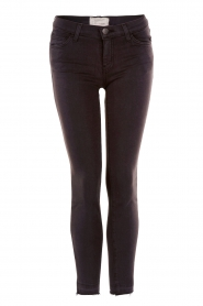 Current/Elliott | Slim-fit skinny jeans The stiletto | zwart   | Afbeelding 1