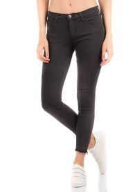 Current/Elliott | Slim-fit skinny jeans The stiletto | zwart   | Afbeelding 2