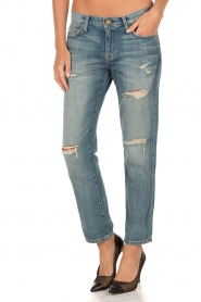 Current/Elliott | Ripped Boyfriend jeans The Fling | blauw  | Afbeelding 2