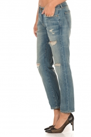 Current/Elliott | Ripped Boyfriend jeans The Fling | blauw  | Afbeelding 4