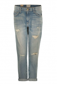 Current/Elliott | Ripped Boyfriend jeans The Fling | blauw  | Afbeelding 1