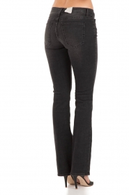 Current/Elliott | Slim-fit midrise boot cut jeans The slim boot | zwart   | Afbeelding 5