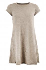Current/Elliott | A-lijn jurk The Beach | grijs  | Afbeelding 1