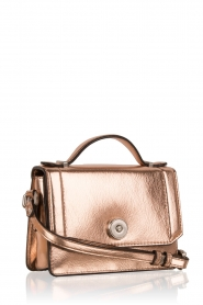 Matthew Harris | Faux-leather mini tas Tiponi | roségoud  | Afbeelding 3