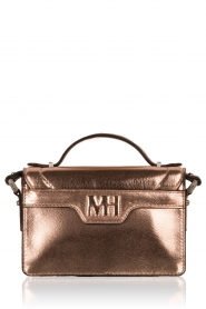 Matthew Harris | Faux-leather mini tas Tiponi | roségoud  | Afbeelding 4
