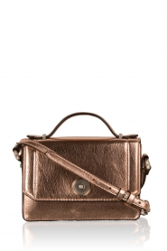 Matthew Harris | Faux-leather mini tas Tiponi | roségoud  | Afbeelding 1