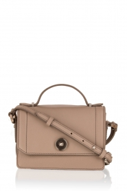 Faux-leather mini tas Camunda | taupe