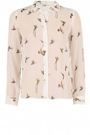 Blouse Birds | wit