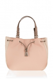 Faux-leather shoulder bag Sachi | multi