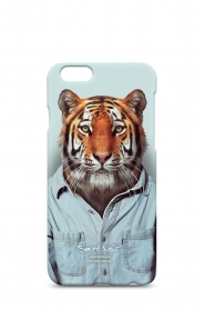 Iphone hoesje 6/6S Tiger | print