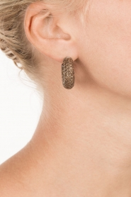 Earrings Sally | brown