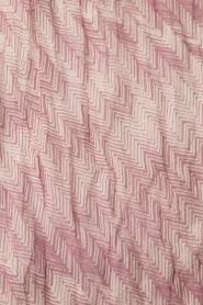 Becksöndergaard | Sjaal Sable | roze  | Afbeelding 4